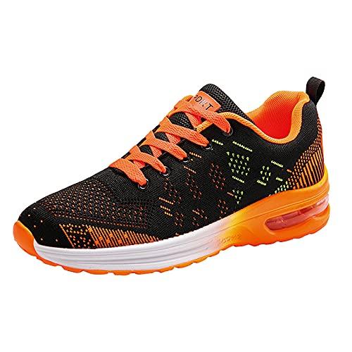Unisex Laufschuhe Herren Damen Atmungsaktives Luftkissen Gym Leichte Tennis Sport Walking Athletic Casual Schuhe Sneakers Laufende rutschfeste Sneakers