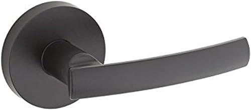 Kwikset 966SYLRDT-514 Sydney Round Interior Single Cylinder Handleset Trim Iron Black Finish