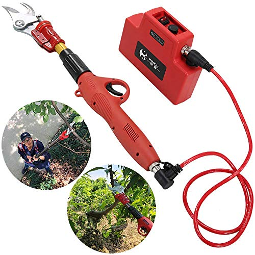 Find Bargain Electric Pruning Shears, gardening electric scissors tools fruit tree branches pruning ...