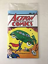 January 2017 Loot Crate Replica copy of Action Comics #1.