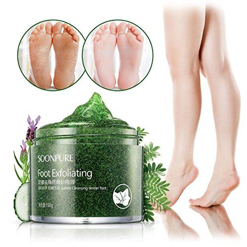 SKYMORE Foot Scrub Gel, Callus Remover Gel,Foot Exfoliating Scrub Gel,...