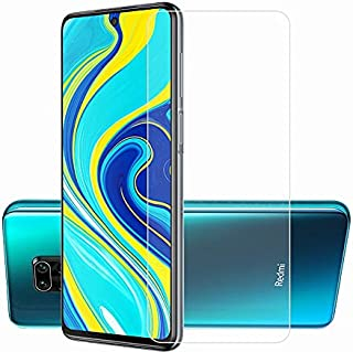 Phone Screen Protectors - 2Pcs 2.5D 9H Tempered Glass for Redmi Note 9S 9 Pro Max Screen Protector Film For Redmi Note 9S ...