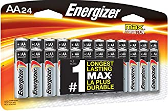 Energizer AA Batteries (24 Count), Double A Premium Max...