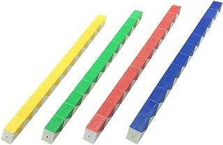 HYHP 12 Packs 12 Blocks Magic Snake Cube, Kids Mini Twist Puzzle Toys Snake Cube Twist Puzzle Mini Snake Speed Cubes