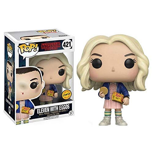 cheaaff Funko Pop Stranger Things Once Demogorgon Hopper Jonathan Nancy Brenner Joyce Figuras de Modelos coleccionables-421