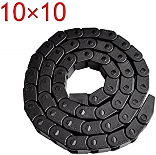 Best Price!!! 10 x 10mm L1000mm Cable Drag Chain Wire Carrier with end connectors for CNC Router Machine Tools