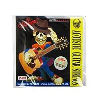 Alice 2nd .0.41mmステンレスフォーククラシックギター弦