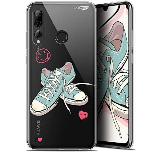 Beschermhoes voor 6,2 inch Huawei P Smart+/Plus 2019, ultradun, motief Mijn Sneakers d'Amour