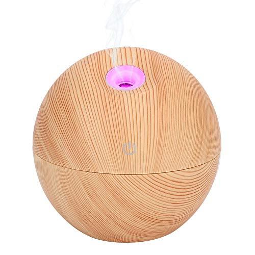 130ml USB Colorido LED Air Mist Maker, Ambientador de aire silencioso Aroma Spray de aceite esencial Eliminador de polvo portátil para coche de oficina en casa(02#)