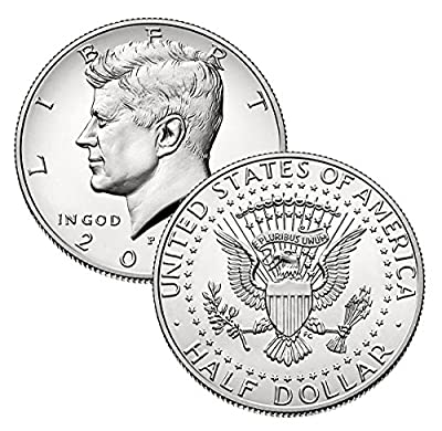 2020 P, D Kennedy Half Dollar 2 Coin Set Uncirculated