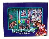 Enchantimals GS-400-EN Set de Papelería, 20 piezas