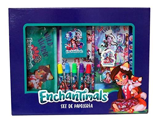 Enchantimals Set de papelería 20 piezas