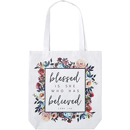 Purse Canvas Bag Tote bag Never Underestimate a mom fueled by prayer