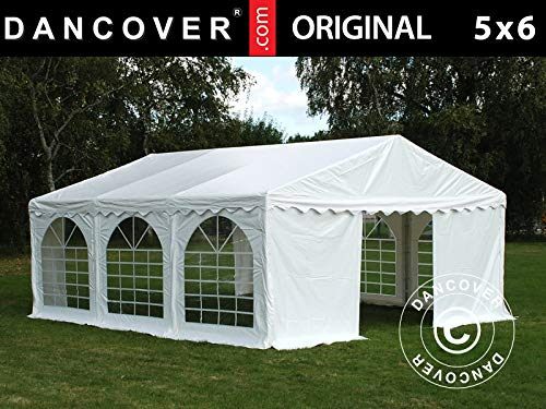 Dancover Partytent Original 5x6m PVC, Wit