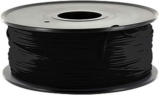 3D Bazaar Flashforge ABS 3D Printing Filament, 1.75 mm diameter, Black Colour, 1 KG Spool