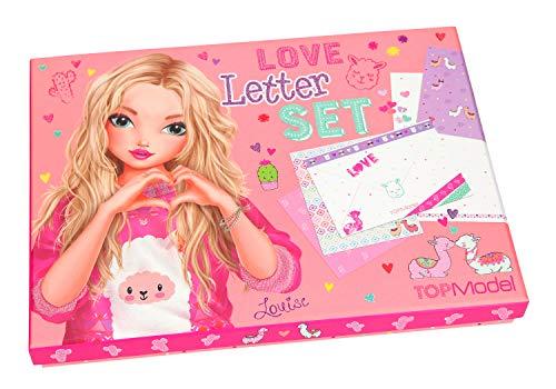 Depesche 10353Love Letter Set, TOPModel Alpaca, Multicolor