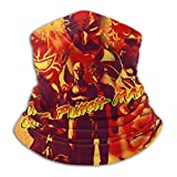Men Women Dustproof Uv Sun Bandana Rave Face Mask, Upf 50+ Windproof Neck Gaiter Face Scarf Mask, Anime One Punch Man Characters Poster Motorcycle Balaclava For Festivals Outdoors Fishing Running