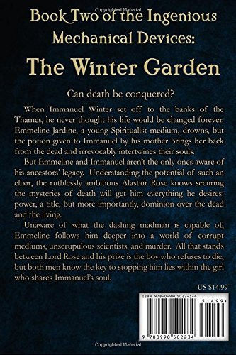 The Winter Garden: Volume 2 (The Ingenious Mechanical Devices) steampunk buy now online