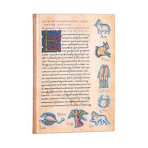 Paperblanks Flexis De Sideribus Tractatus - Cuaderno de tapa blanda (130 × 180 mm)