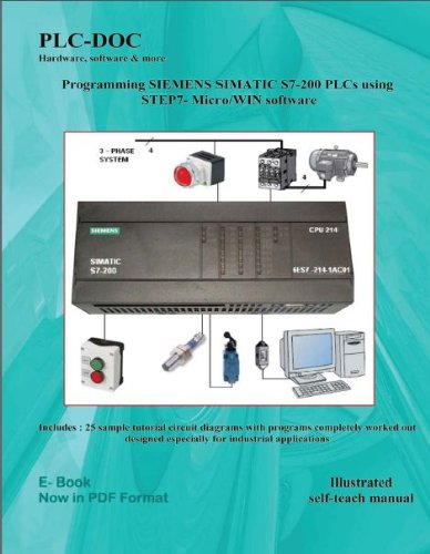 Programming SIEMENS SIMATIC S7-200 PLCs using Step7-Micro/Win software (English Edition)