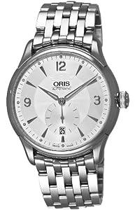 Oris Men's 623 7582 4071MB Artelier Small Second Date Watch image