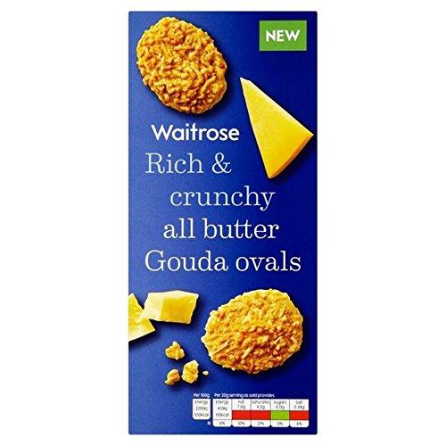 Ovale Formaggio Gouda Biscotti Per Waitrose 80G (Confezione da 4)