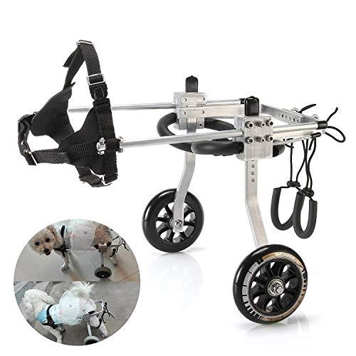 LMCWSTC Haustier Rollstuhl Hund Rollstuhl/Hund Roller/Reha-Trainingswagen/aus dem tragbaren (Size : S)