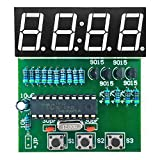Gikfun C51 4 Bits Digital LED Electronic Soldering Clock Kits Electronic Practice Learning Board DIY Kit for Arduino EK1939