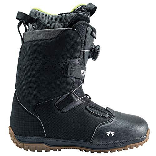 Rome Snowboards Stomp Snowboard Boots, Schwarz, 12,5