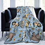 Qualet Where The Wild Things are Ultra Soft Micro Fleece Warm Throw Lightweight Bed Blanket Sofa Cozy, Blanket Couch Travel Chair for Home 50' X40