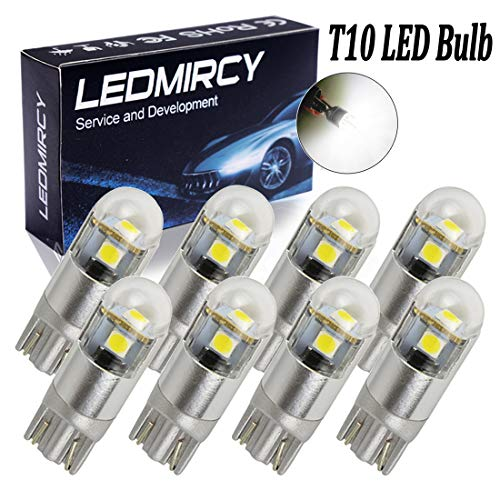 Superlite bom12632/Superlite Paar Lampen Standlicht T10/LED wei/ßes Licht mit Sockel