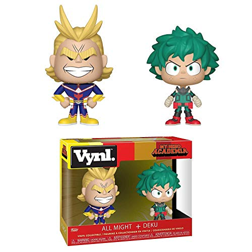 Pack Funko. My Hero Academia - 2 Piezas Vynil All Might & Deku