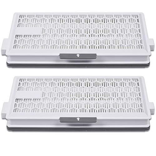 2 Pack Air Clean Plus-Filter passend für Miele Air Clean SF-AP 50 10107860 von KEEPOW