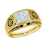 Freedom Isn't Free Ring- Army - 10 #5958-021