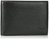 Armani Exchange Men's Bifold Wallet Embossed With Minimal Logo