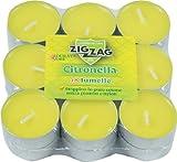 Zig Zag, Candela alla Citronella per la casa, Lumelle alla Citronella, Protezione Anti Zanzare da interno, n. 18 Lumelle da interno, durata 4 ore