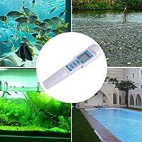 デジタルPHメーター、3イン1メーターデザインPHメーター、水族館の水源用の大型クリアスパ水耕栽培
