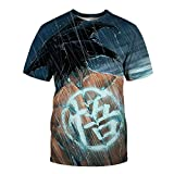 ZZDYRSRE Camiseta Unisex AnimeDragon BallGoku-D_S