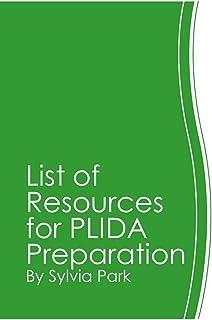 List of Resources for PLIDA Preparation (English Edition)