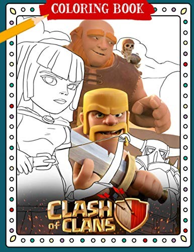 Clash Of Clans Coloring Book