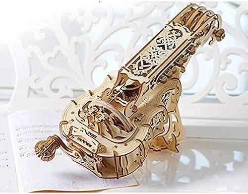 AX- model 3D-Puzzle-Handorgel Modell montiert aus Holz   292 Stück 40  16,5  22 cm