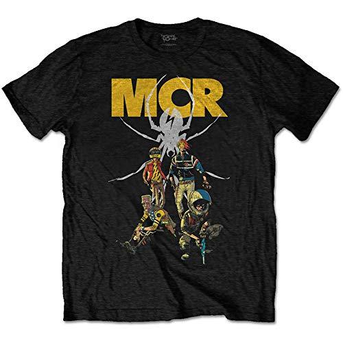 My Chemical Romance MCRTS02MB03 T-Shirt, Nero, L Unisex-Adulto