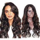 Zana Pelucas brasileño Virgin Remy Humano Pelo Ondulado Lace Front Peluca de pelo humano para los afroamericanos