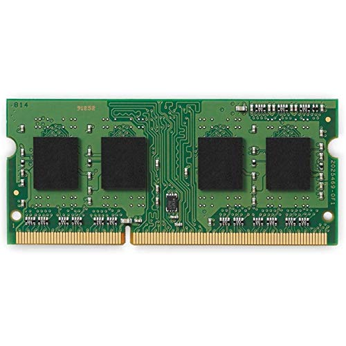 Kingston KVR16S11S8/4 Arbeitsspeicher 4GB (DDR3 Non-ECC CL11 SODIMM 204-pin, 1,5V), Grün/Blau