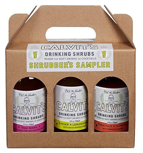 Calvits Shrubs - Shrubbers Sampler #2 Gift/Variety Pack