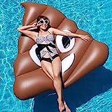 Piscine Gonflable de 140cm Piscine Gonflable Chaise Longue Appareil de Matelas à air pour Adultes Beach Water Party Toys Boa Piscina (Couleur : 140x130x120cm)