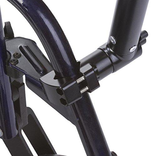 Displays2go iPad Wheelchair Mount, Rotating and Tilting, Universal Bracket, Extendable (IPBYSATO10)