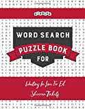 Word Search Puzzle Book for Waiting In Line For Ed Sheeran Tickets
