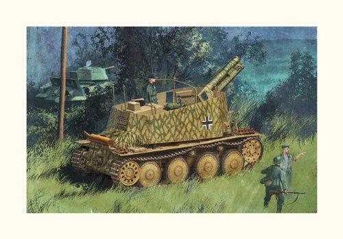 Dragon 1/35 Geschützwagen - WWII Self-propelled Howitzer