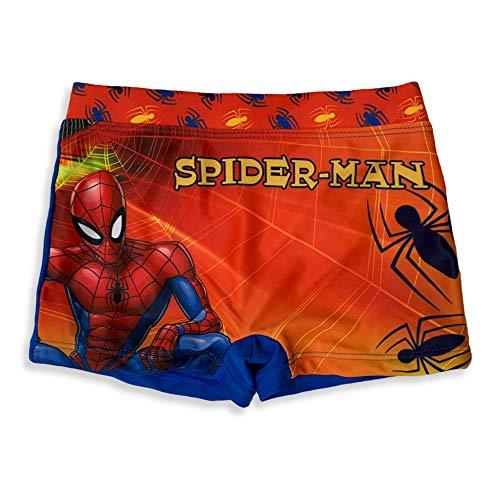 Marvel Kostüm Von Meer Offiziel Spiderman Für Kind Boxer-Shorts Schwimmbad 3117 - Rot, 8 Alter
